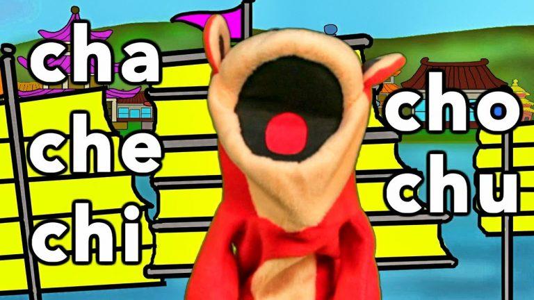 Sílabas cha che chi cho chu - El Mono Sílabo - Videos Infantiles - Educación para Niños #