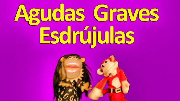 La Canción de las Reglas de Acentuación - El Mono Sílabo - Videos Infantiles Educativos
