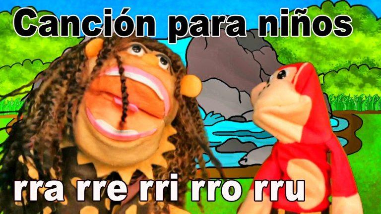 Canción rra rre rri rro rru - El Mono Sílabo - Videos Infantiles - Educación para Niños #