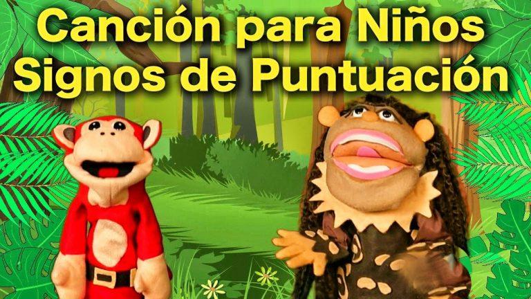 La Canción de los Signos de Puntuación - El Mono Sílabo - Canciones infantiles