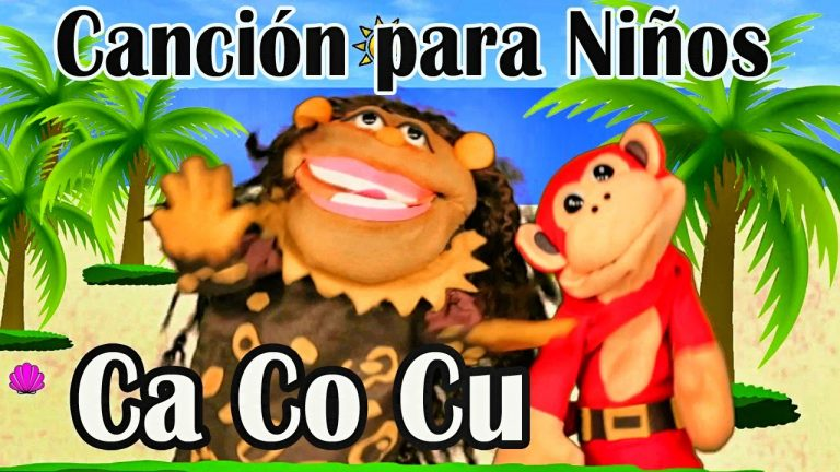 Canción ca co cu - El Mono Sílabo - Videos Infantiles - Educación para Niños #