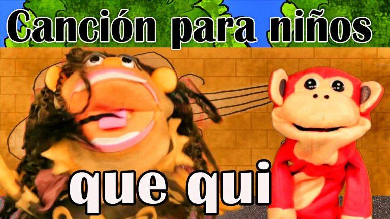 Canción que qui - El Mono Sílabo - Videos Infantiles - Educación para Niños #
