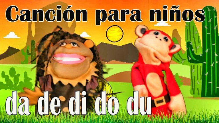 Canción da de di do du - El Mono Sílabo - Videos Infantiles - Educación para Niños #