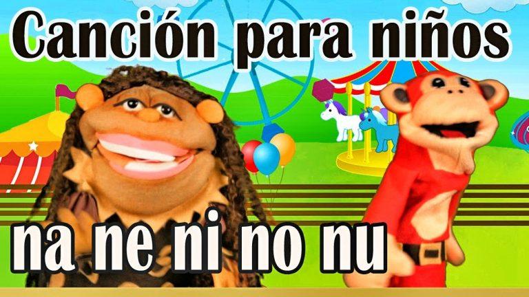 Canción na ne ni no nu - El Mono Sílabo - Videos Infantiles - Educación para Niños #
