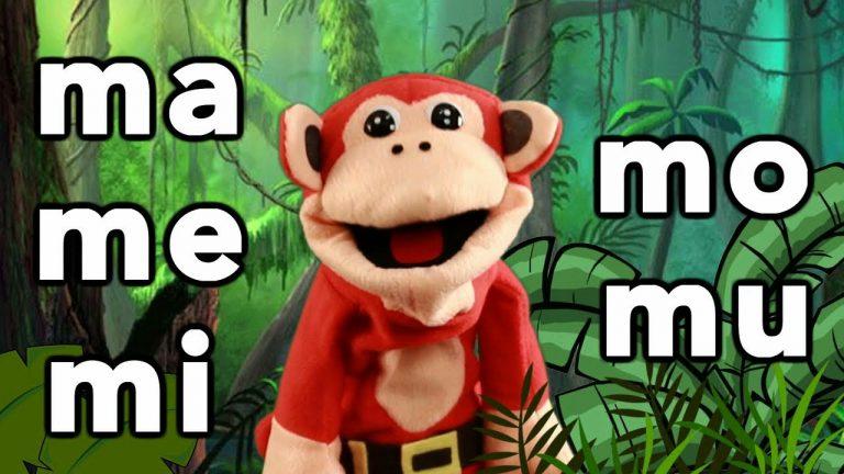 Sílabas ma me mi mo mu - El Mono Sílabo - Videos Infantiles - Educación para Niños #