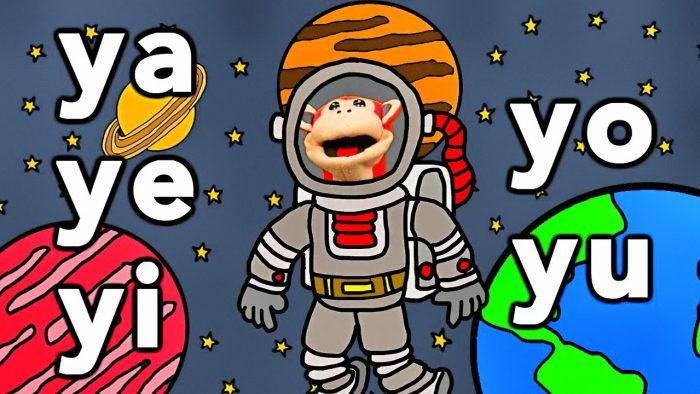 Sílabas ya ye yi yo yu - El Mono Sílabo - Videos Infantiles - Educación para Niños #