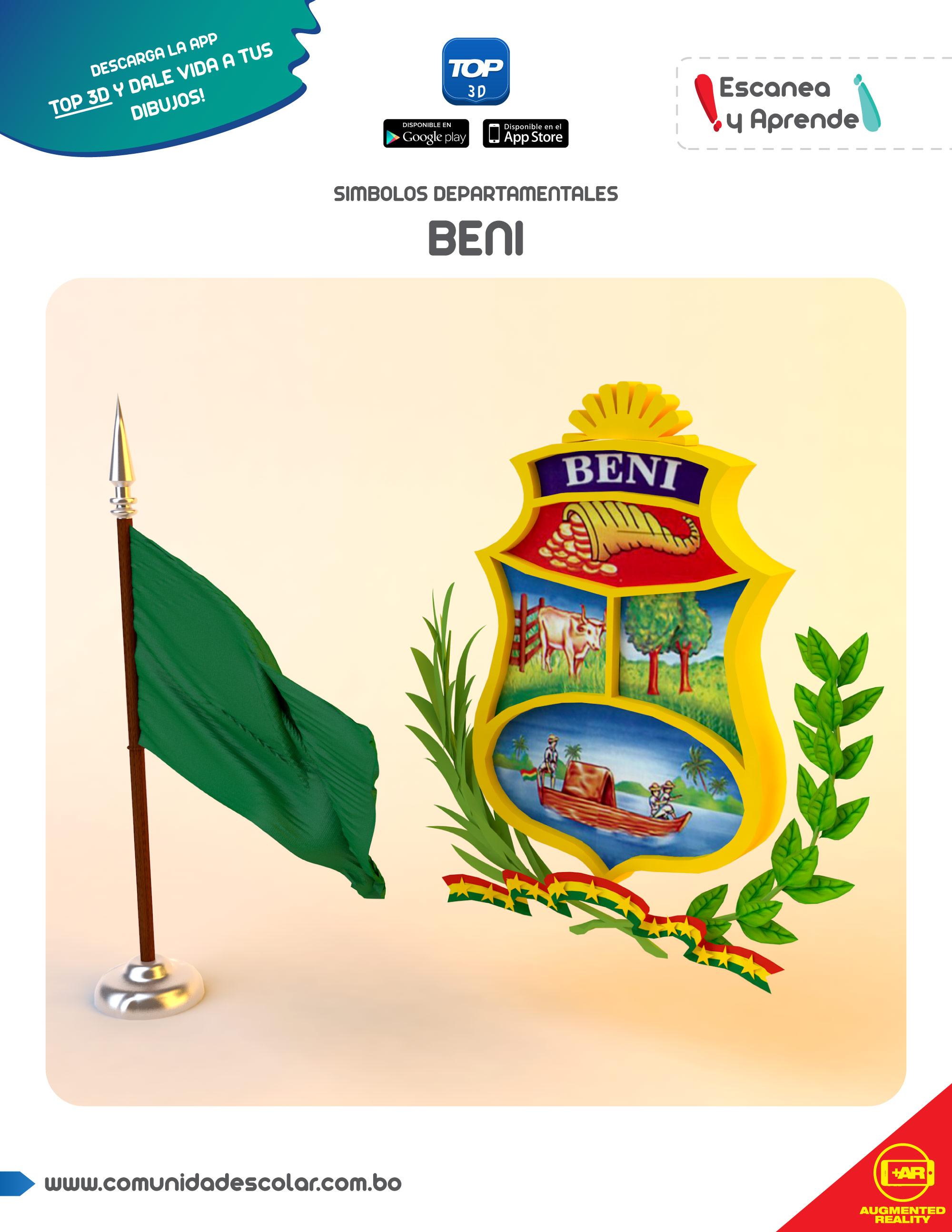 Símbolos del departamento de Beni