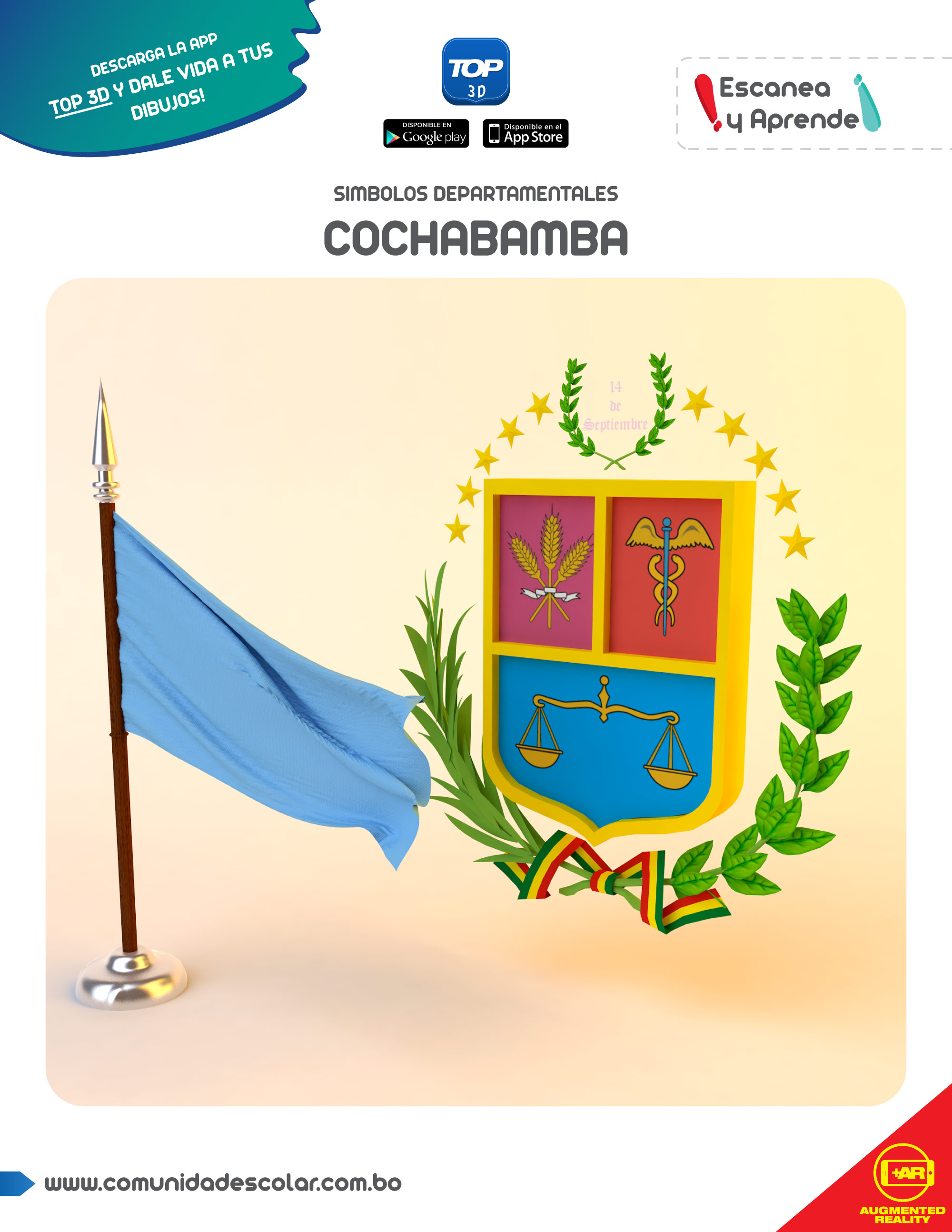 Símbolos del departamento de Cochabamba