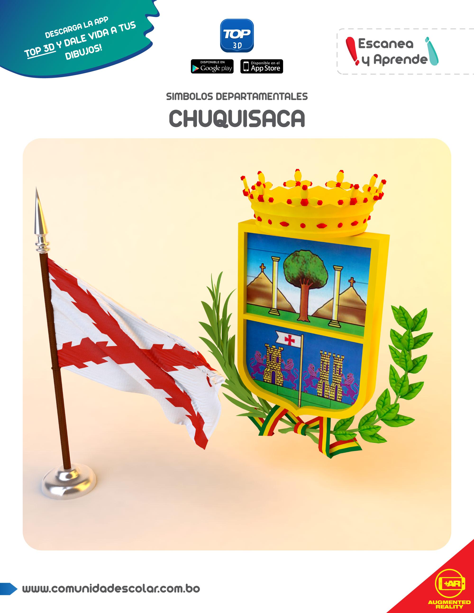 Símbolos del departamento de Chuquisaca