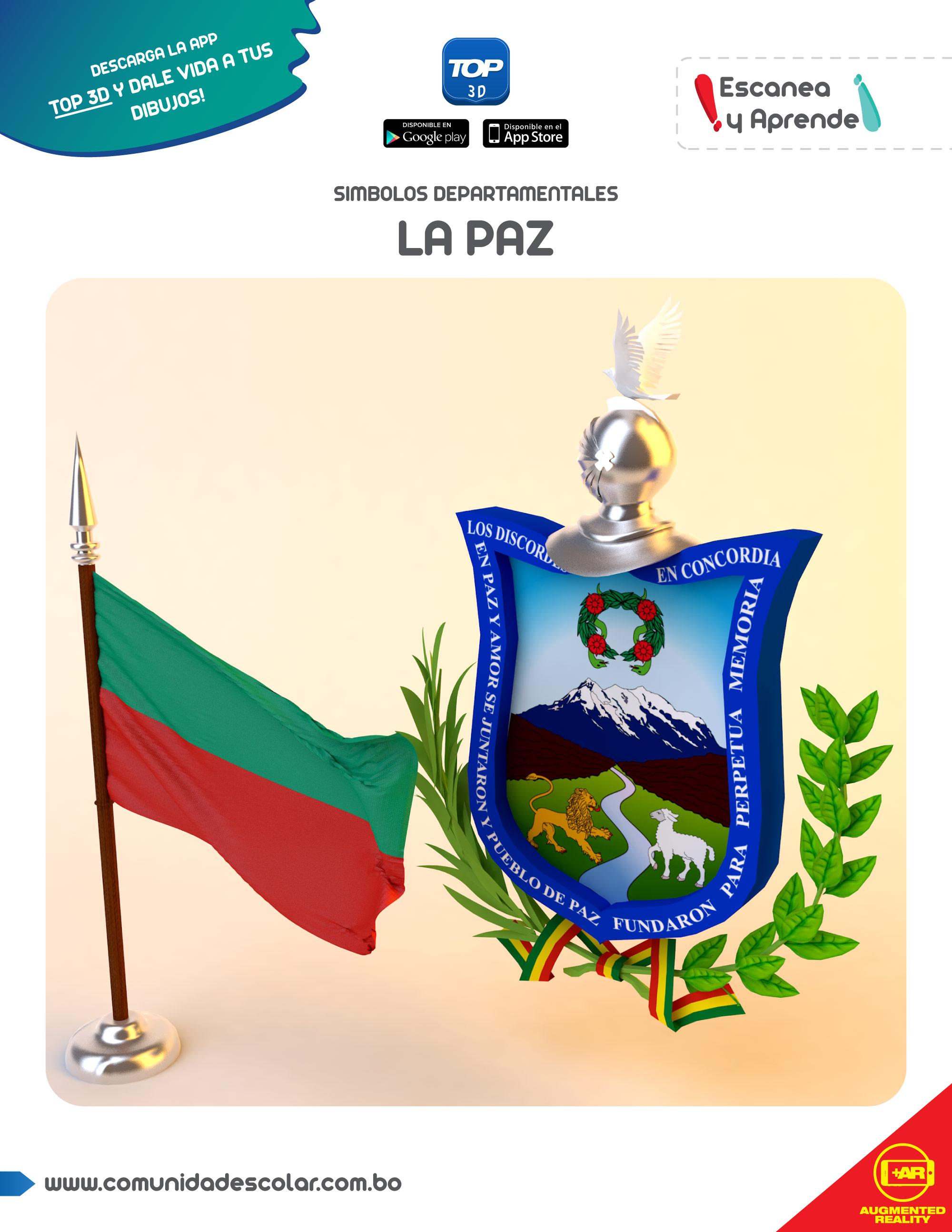Símbolos del departamento de La Paz