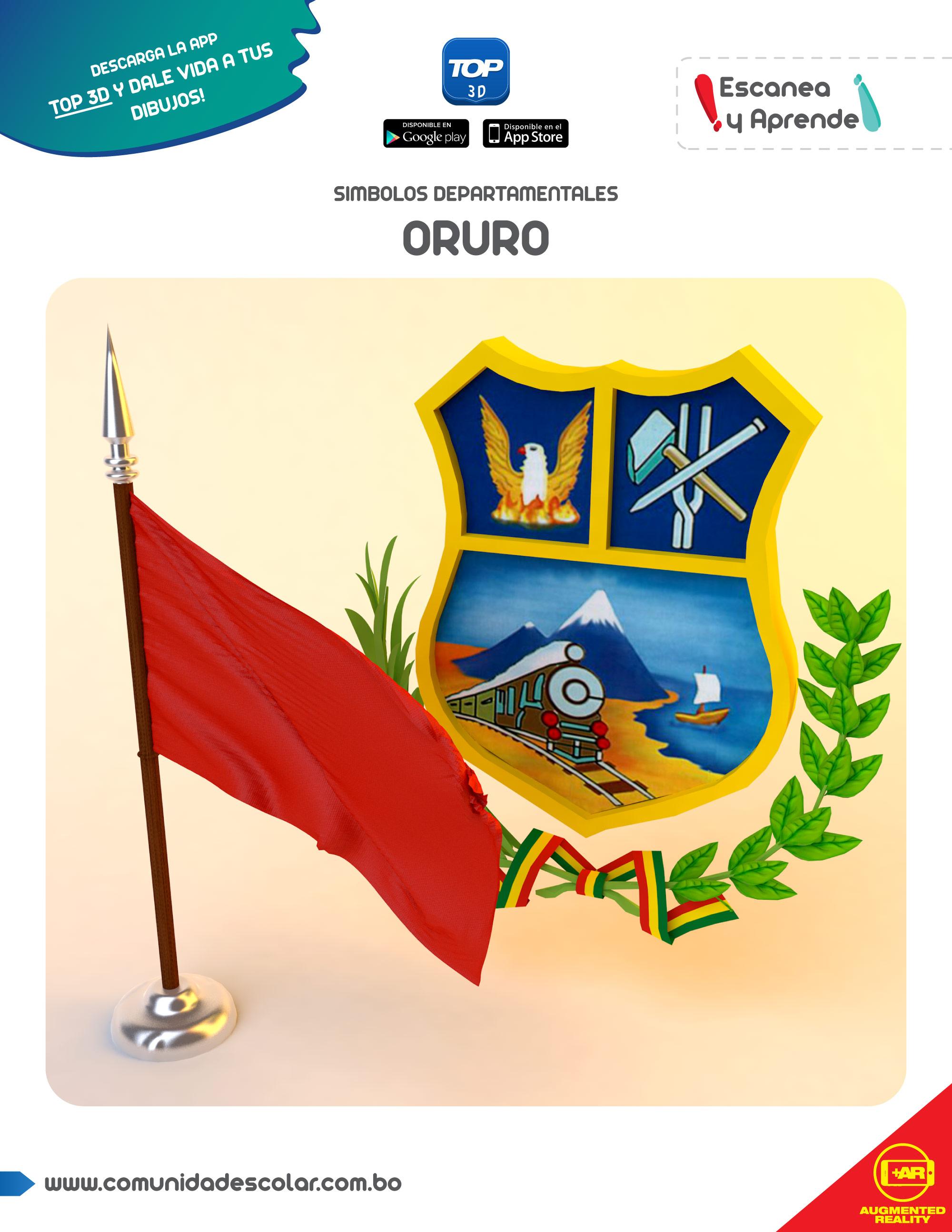 Símbolos del departamento de Oruro