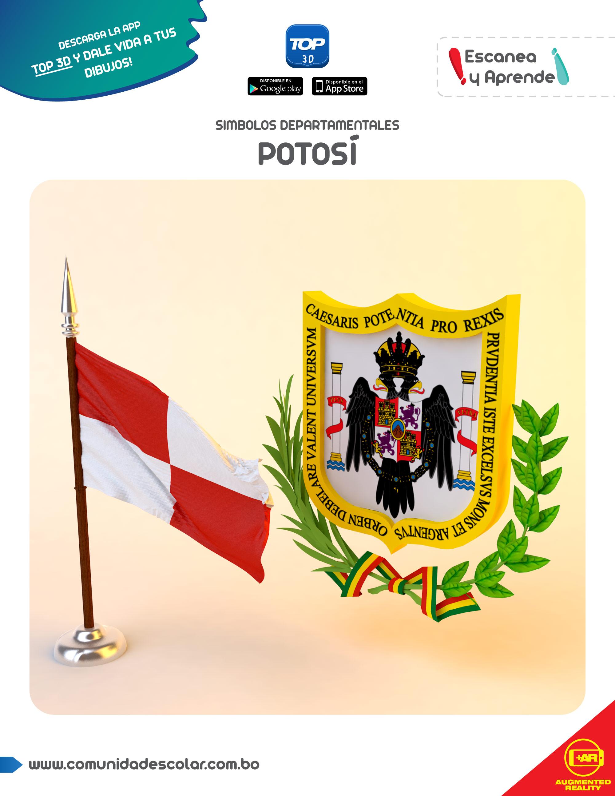 Símbolos del departamento de Potosí