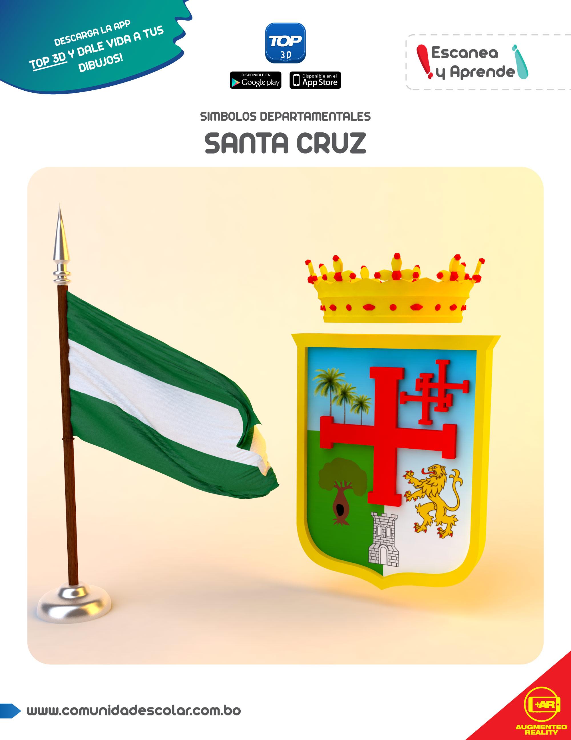 Símbolos del departamento de Santa Cruz