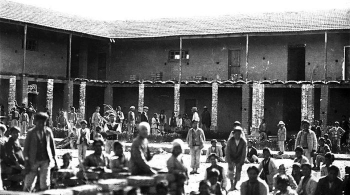Interior Escuela Warisata (Pagina Siete).