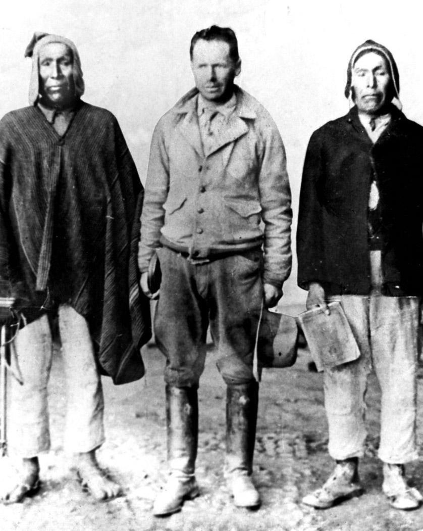 Mariano Ramos, Elizardo Pérez y Avelino Siñani